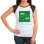 Rotisserie Chicken Rop Junior's Cap Sleeve T-Shirt