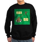 Rotisserie Chicken Rope Maker Sweatshirt (dark)