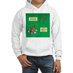 Rotisserie Chicken Rope Maker Hooded Sweatshirt