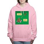 Rotisserie Chicken Rope Women's Hooded Sweatshirt