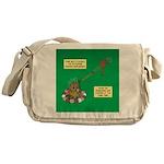Rotisserie Chicken Rope Maker Messenger Bag
