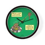 Rotisserie Chicken Rope Maker Wall Clock