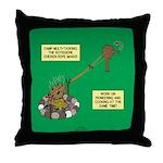Rotisserie Chicken Rope Maker Throw Pillow