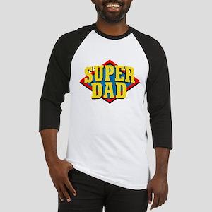 Super Dad Baseball Jersey