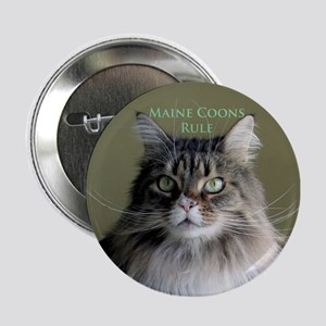 """""""Maine Coons Rule"""" Button"""