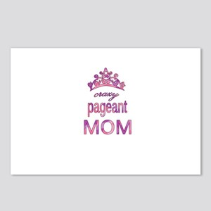 Crazy pageant mom Postcards (Package of 8)
