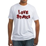 Love Stinks Fitted T-Shirt