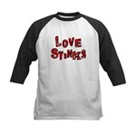 Love Stinks Kids Baseball Jersey