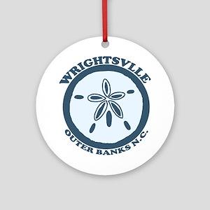 Wrightsville Beach NC - Sand Dollar Design Ornamen