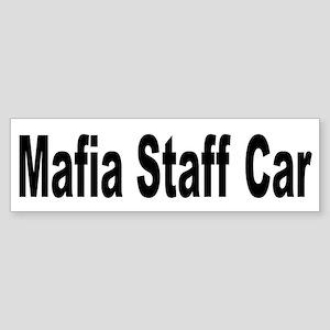 Mafia Staff Car Bumper Sticker