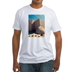 Rancho Taos Church Fitted T-Shirt
