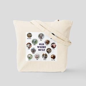 Old Weims Rule! Tote Bag
