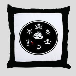 FOR THE BROTHERHOOD Throw Pillow