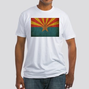 Vintage Arizona Flag Fitted T-Shirt