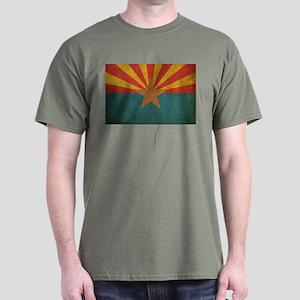 Vintage Arizona Flag Dark T-Shirt