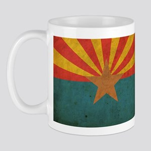 Vintage Arizona Flag Mug