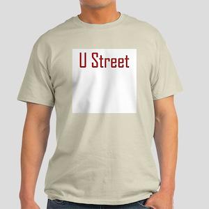 U Street Red/Black Ash Grey T-Shirt