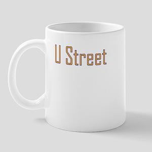 U Street Orange/Blue Mug