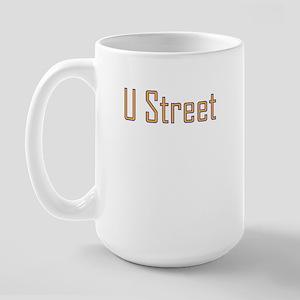 U Street Orange/Blue Large Mug