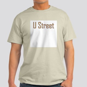 U Street Orange/Blue Ash Grey T-Shirt