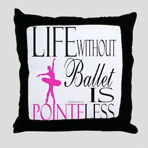 Pointeless Throw Pillow