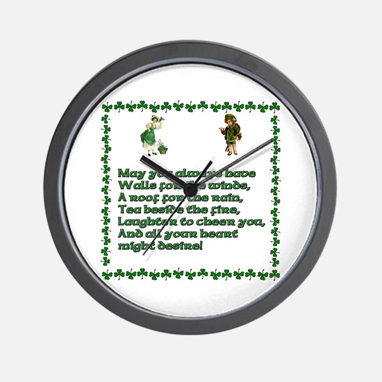Irish Blessings, Saying, Toasts and Prayer Wall Cl