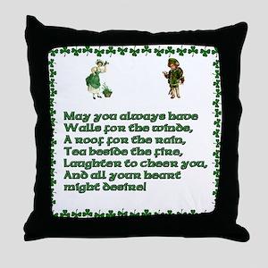 Irish Blessings, Saying, Toasts and Prayer Throw P