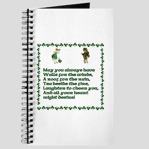Irish Prayer Notebooks Cafepress