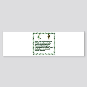Irish Blessings, Saying, Toasts and Prayer Sticker