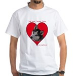 Valentine White T-Shirt