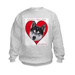 Valentine  Kids Sweatshirt