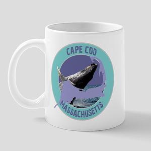 Cape Cod Whale Mug