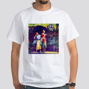 Beverly Gray World's Fair White T-Shirt