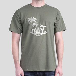 LOST - Lostie white Dark T-Shirt