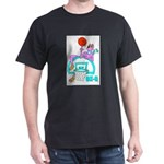 Ok-9 Inspiration(basketball) Black T-Shirt