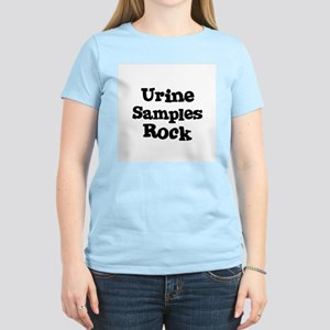 Urine Samples Rock Women's Pink T-Shirt