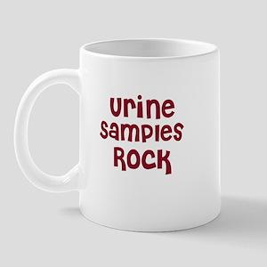 Urine Samples Rock Mug