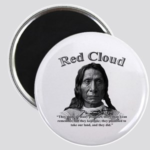 Red Cloud 01 Magnet