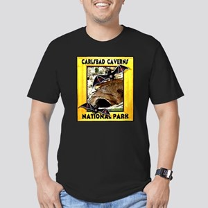 Carlsbad Caverns National Par Men's Fitted T-Shirt