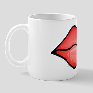 Red Lips Kiss Mug