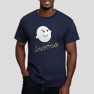Schadenfreude Men's Fitted T-Shirt (dark)