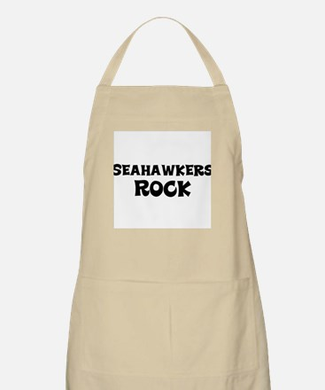 Seahawkers Rock BBQ Apron