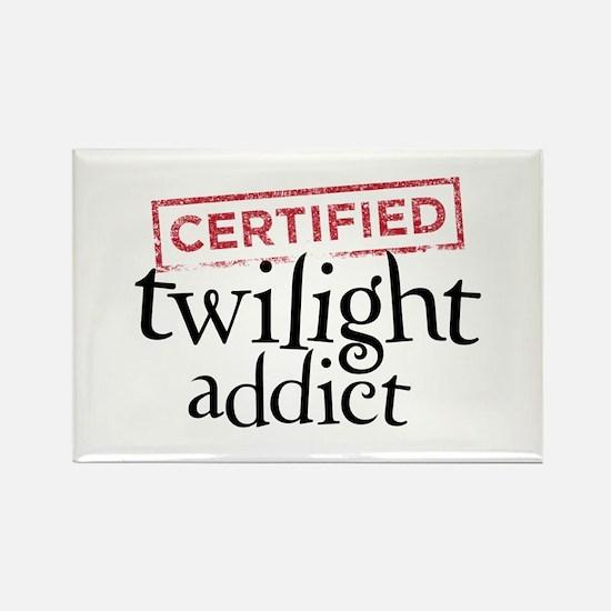 Certified Twilight Addict Rectangle Magnet