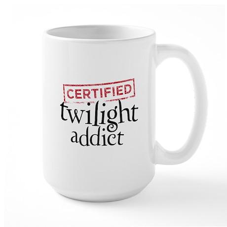 Certified Twilight Addict Large Mug