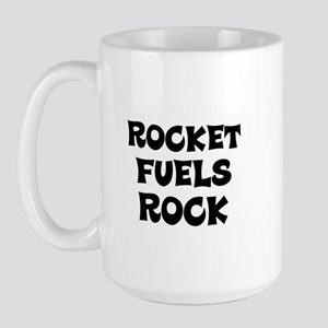 Rocket Fuels Rock Large Mug
