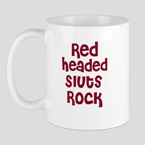 Red Headed Sluts Rock Mug