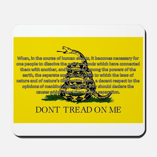 DONT TREAD ON ME for Independ Mousepad