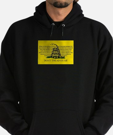 DONT TREAD ON ME for Independ Hoodie (dark)