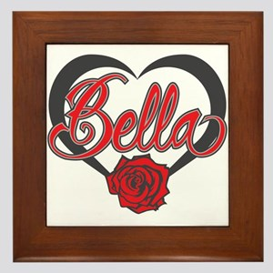 Bella Swan Framed Tile