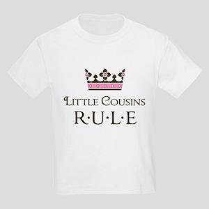 Little Cousins Rule Kids Light T-Shirt